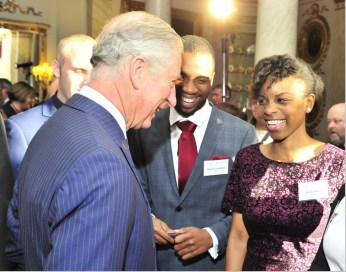 Kenny meets the Prince Charles, The Prince of Wales