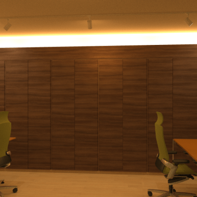 Reproduction of Real Workspace under Indirect Illumination