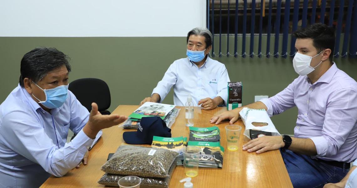 Integrada recebe chefe da Casa Civil do Paraná