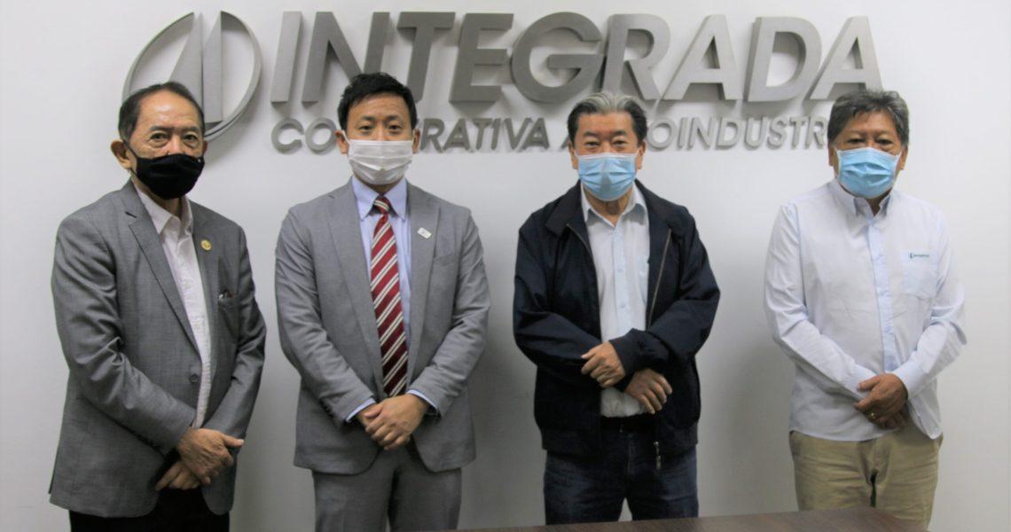 Integrada recebe a visita do Cônsul Interino do Japão