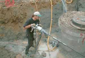 IBO Anchor installation with portable drill photo0001