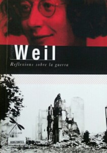 """Sobre ètica política: Epíleg al llibre """"Reflexions sobre la guerra"""" de Simone Weil"""