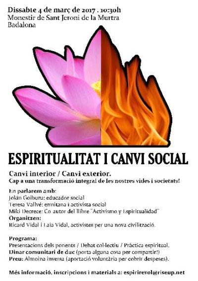 Espiritualitat i Canvi social