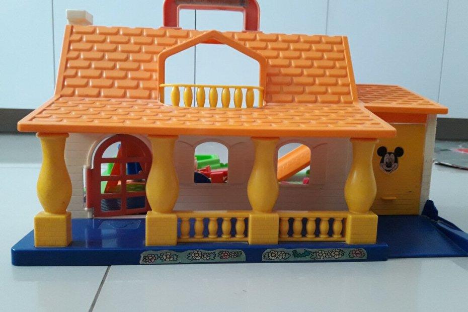 Casa do Mickey - o brinquedo que atravessa gerações