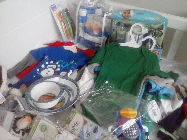 Enxoval de bebê importado - um pouco dos primeiros itens do enxoval do meu filho