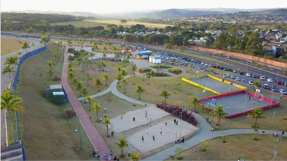 Parque-Marcos-Veiga-Jardim- como aproveitar os parques de Goiânia com as crianças