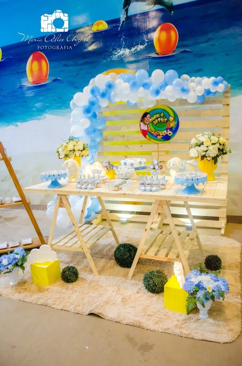 Como decorar uma festa infantil com tema Cristão
