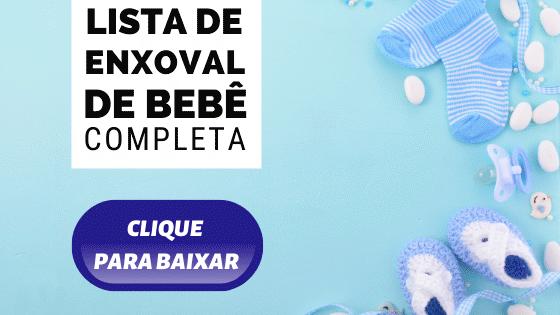 BAIXAR LISTA DE ENXOVAL DE BEBÊ COMPLETO