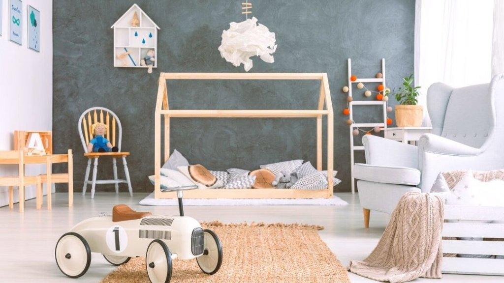 layout do quarto de bebê