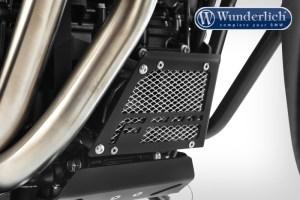 Protector del filtro de aceite e intercambiador de calor