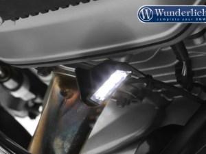 Wunderlich Iluminación para el caballete lateral de la