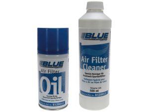 Kit de limpieza para filtro (500ml) y aceite (30ml) marca BLUE