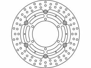 Disco de freno delantero TRW-LUCAS