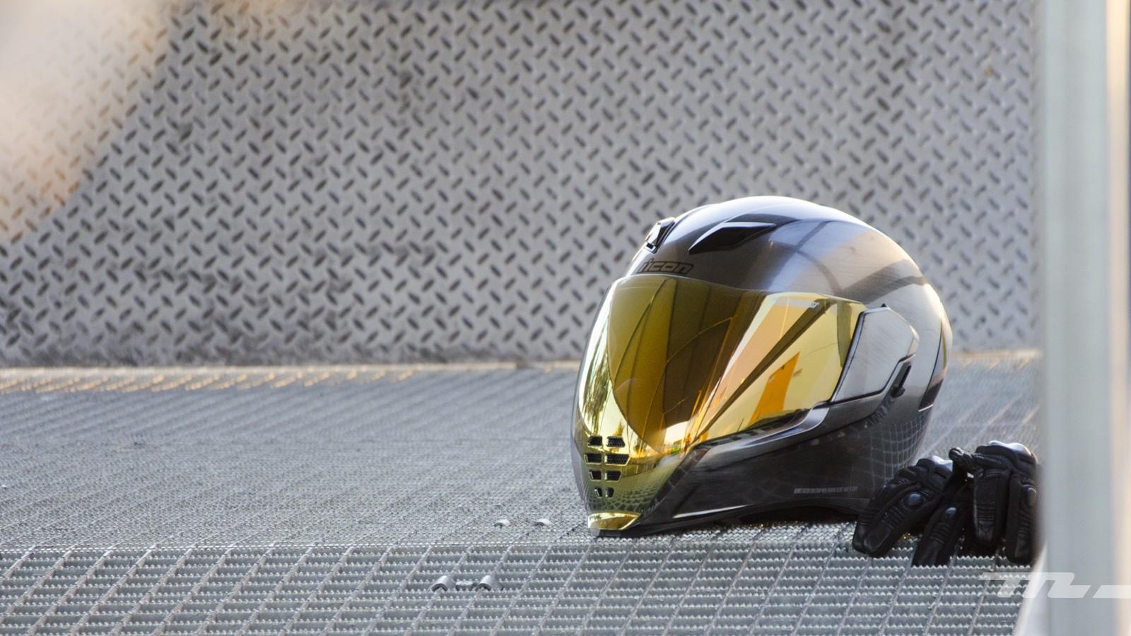 Icon Airflite: un casco de estética futurista muy poco discreto a precio ajustado