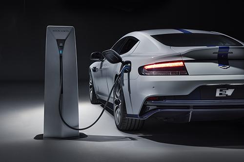 All Electric 800V Aston Martin Rapide E Powered By Integral e-Drive