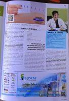 Dra. Orens en revista Cover Talavera