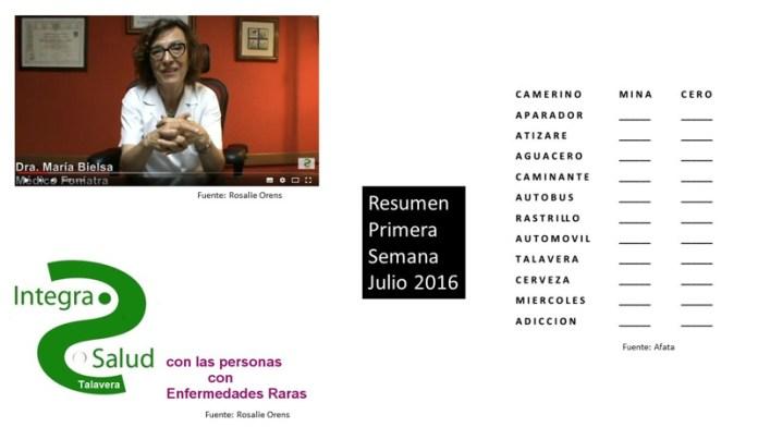 Resumen Primera Semana Julio 2016