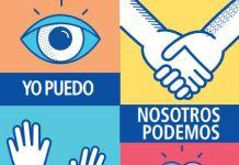 Cartel por el Día Mundial contra el cáncer 2017 de la OMS.