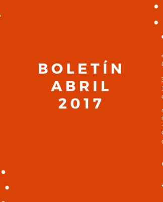 Boletín Abril 2017