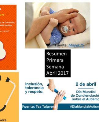 Resumen Primera Semana Abril 2017.