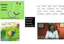 Resumen Primera Semana Junio 2017