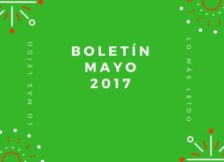 Boletín Mayo 2017