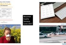 Resumen Cuarta Semana Junio 2017