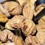 Ejemplo de frutos secos: Castañas