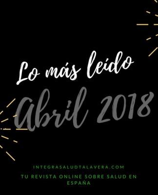 Lo más leído Abril 2018