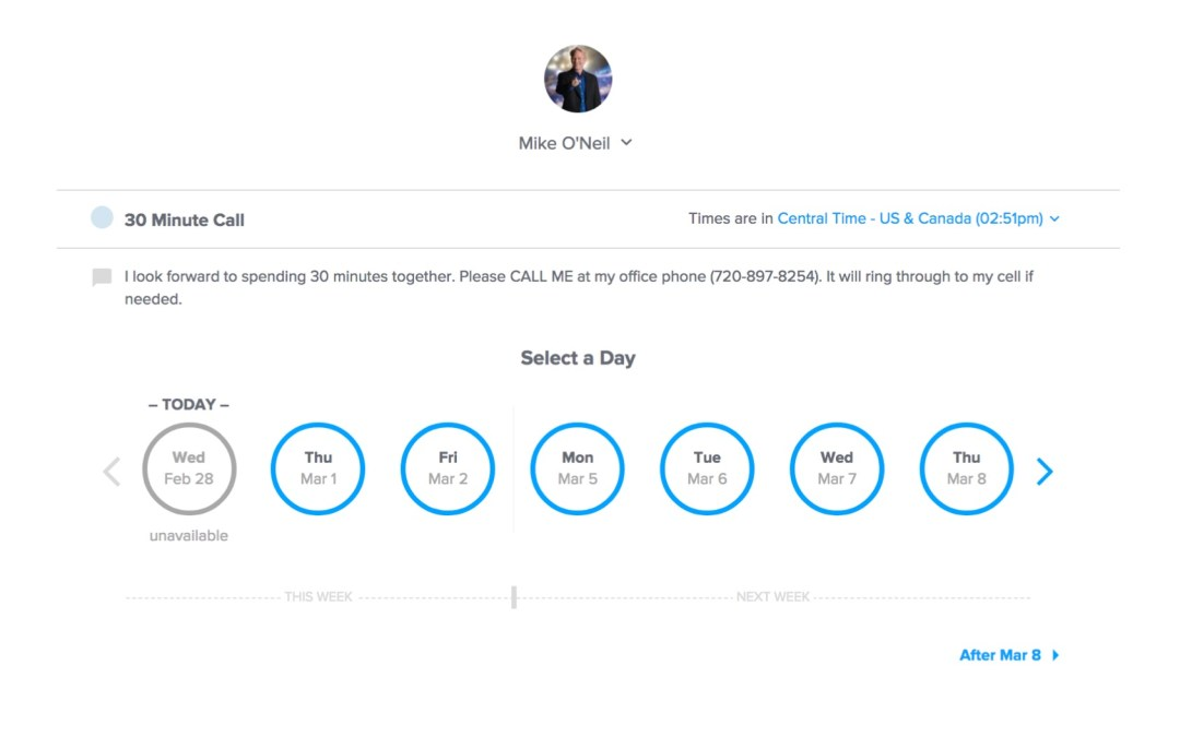 Get more appointments with online scheduling tools