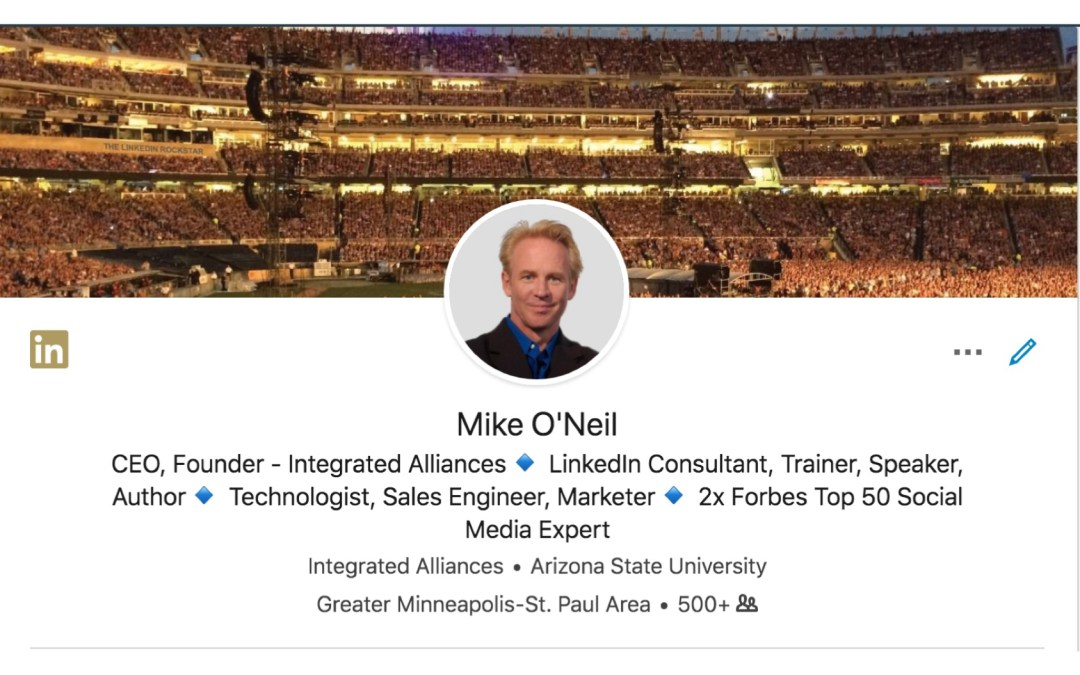 The LinkedIn Profile Header – How to Improve Your Look