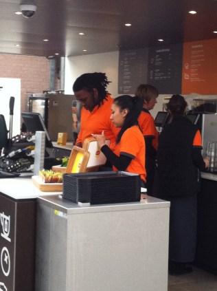 Orange clothes in Holland