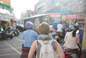 Person traveling