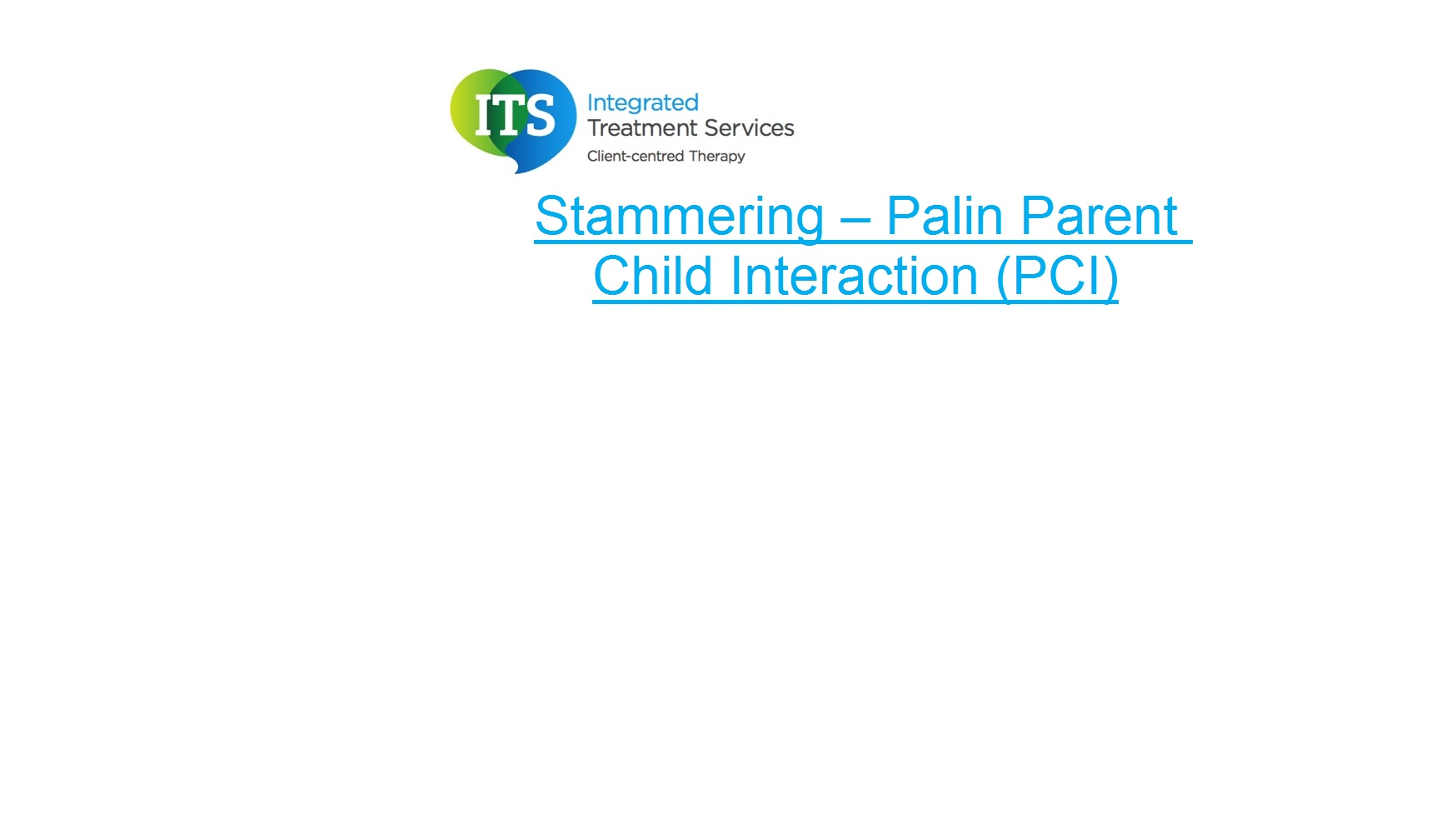 Palin Parent Child Interaction Information Sheet