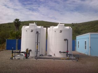 Pre-chlorine Contact Tank and RO Product Tank