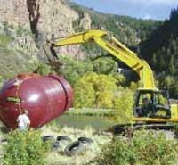 12,000 Gallon septic tank