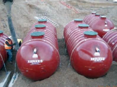 Wastewater Tank