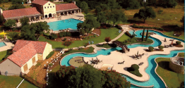 View of the Vintage Oaks Club House and Pool Area