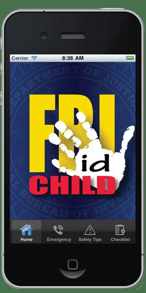 FBI child id app integrate news safety phone