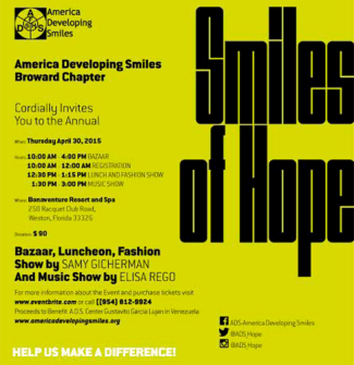 Ads smiles of hope integrate news weston giving back