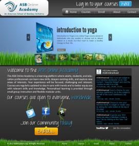 Online Academy Website