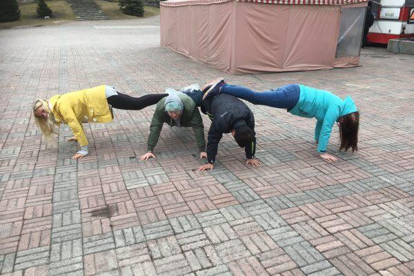 Morgongymnastik - alla kan och alla vill.