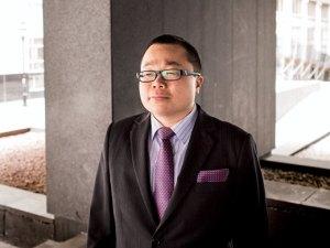 Winston Chan, chiropraticien, président de CA du Regroupement des jeunes chambres de commerce du Québec. L'actualité