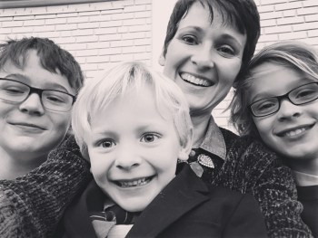 A letter to my children - Ginger Garner on Mothers Day