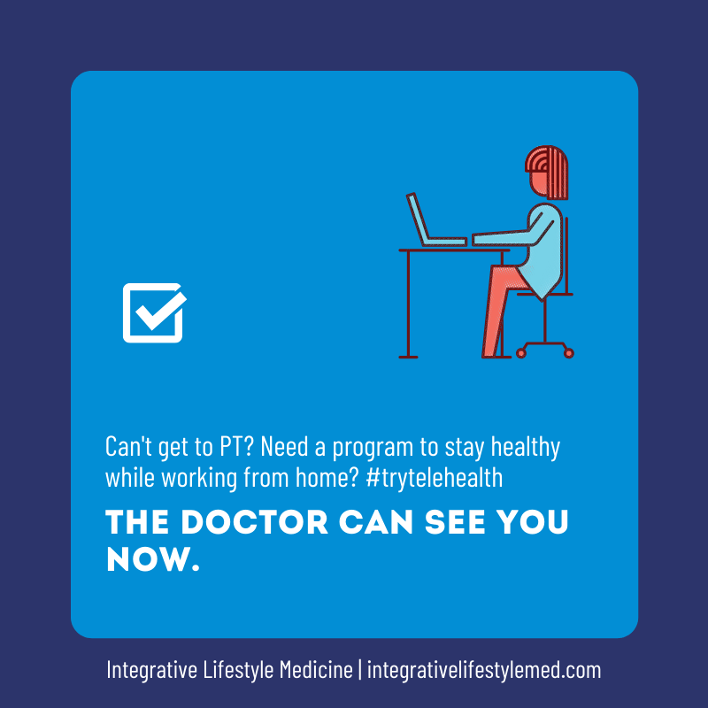 Telehealth Integrative Lifestyle Medicine