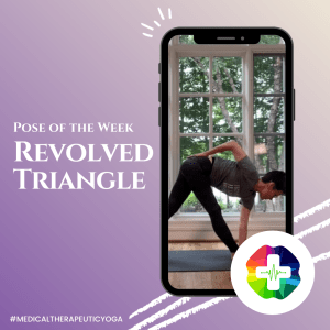 Pose of the Week with Dr. Ginger Garner - Revolved Triangle
