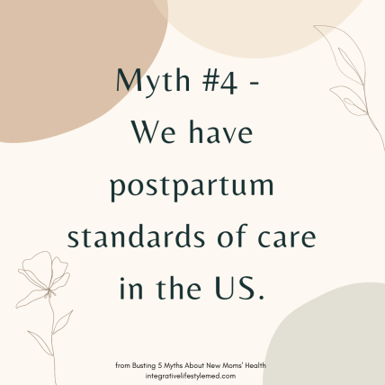 Busting 6 Myths about Postpartum Recovery