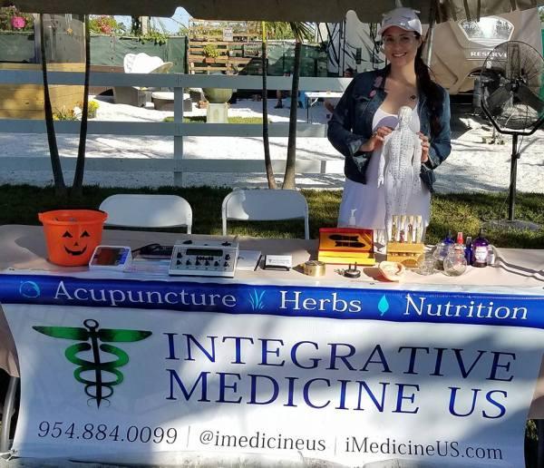 integrative medicine us acupuncture booth prime wellness