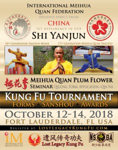 Fort Lauderdale Kung Fu Tournament Oct 2018