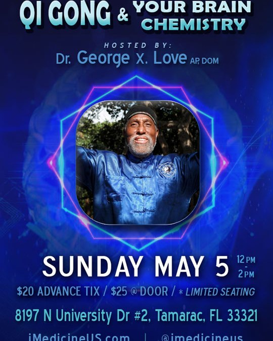 May 5 Qi Gong Seminar in Coral Springs for Brain Health